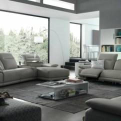 Grey Sofas Leather Automatic Reclining Sofa Mit Relaxfunktion - Schenken Sie Sich Komfort Und ...