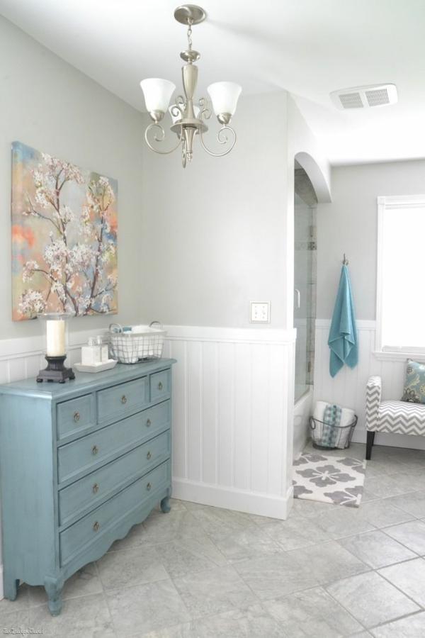 Badezimmer Boden Farbe