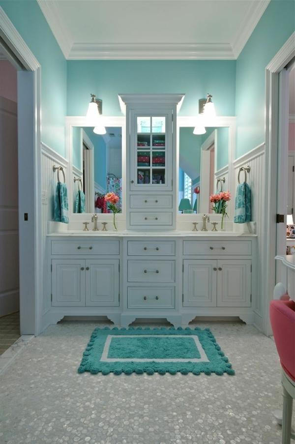 Badezimmer Mit Farbe Gestalten