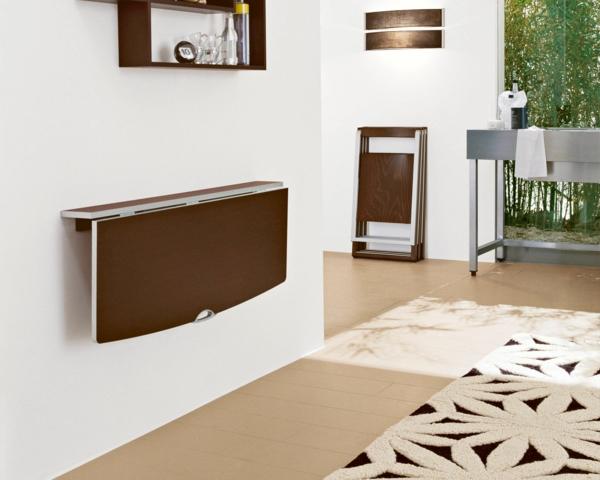 Wandklapptische  Platz sparen und praktisch wohnen