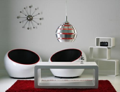 sofas living room black friday sofa bed uk wohnzimmereinrichtung 70-er jahre. bunt und gegensätzlich.