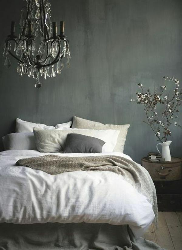 Grau als Wandfarbe Wie schn ist das denn
