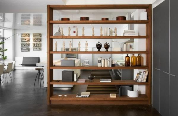 Living Room Built In Desk
