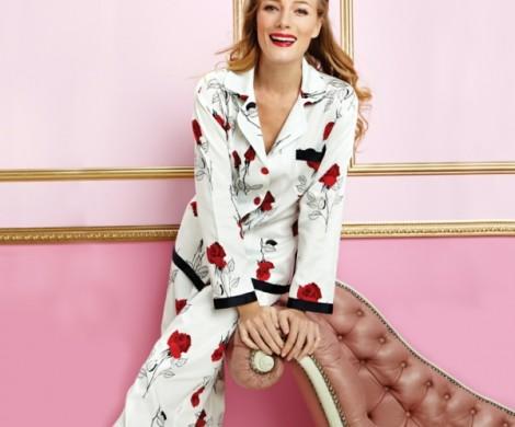 Schlafanzug fr Damen  auch beim Schlaf schn und modern