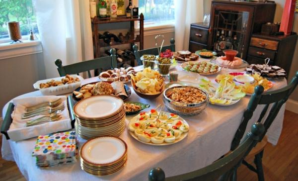 Partygerichte fr Ihre Gste schnell und leicht zubereiten