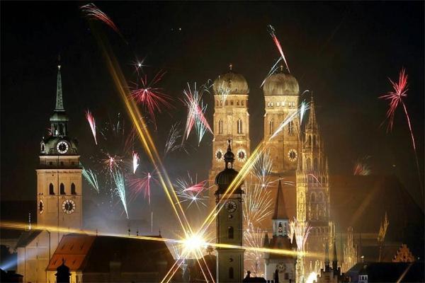 Silvester Kurzreisen nach Deutschland  Neujahr in