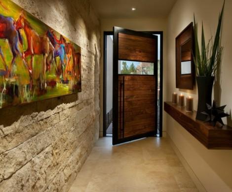 Wandgestaltung im Flur  Ideen die Sie in Ihr Haus einfhren knnen