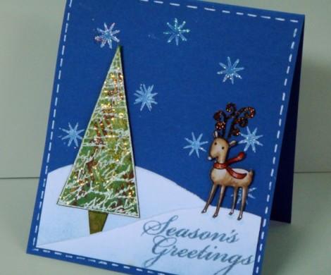 Weihnachtskarten basteln  ein persnliches Geschenk fr Weihnachten