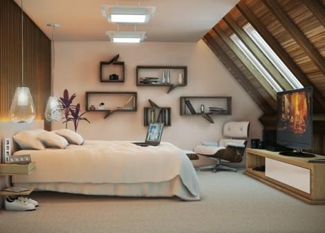 Wandgestaltung im Schlafzimmer Ideen fs Schlafzimmer im