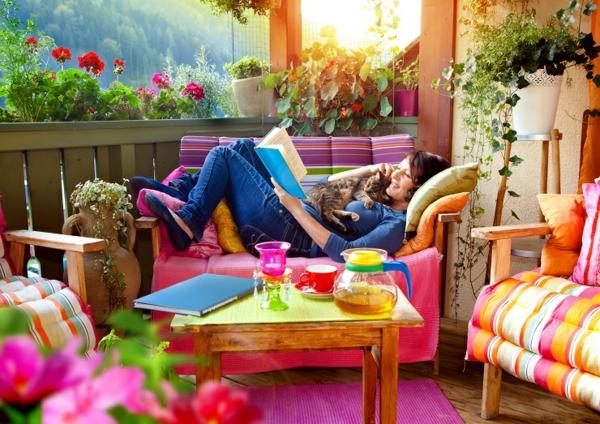 Balkongestaltung und GartenTrends fr das Jahr 2015