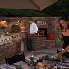 Kitchen Designer Appliance Storage Outdoor Küche Und Möbel Für Angenehmes Abendessen Im Freien