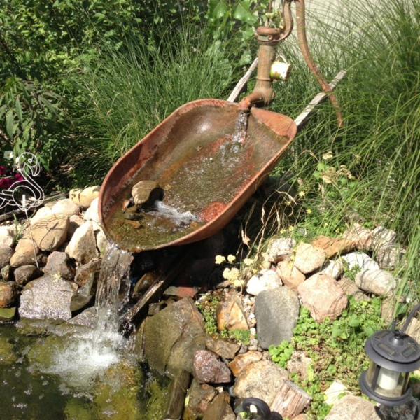 Rost Deko Garten  GartenMode die wunderschn und