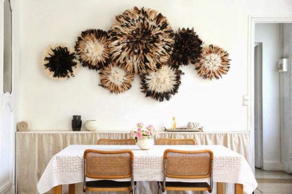 Kreative Wandgestaltung fr eine auergewhnliche Stimmung im Raum