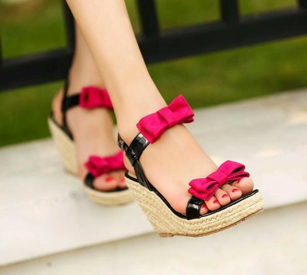 Mdchen Sandalen die sehr trendig im Sommer 2015 sein werden