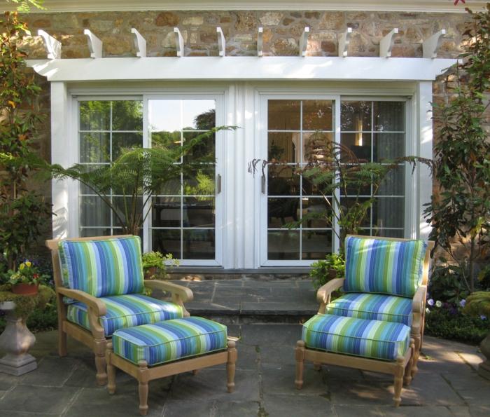 Gartenhaus mit Veranda auf der Suche nach Gemtlichkeit