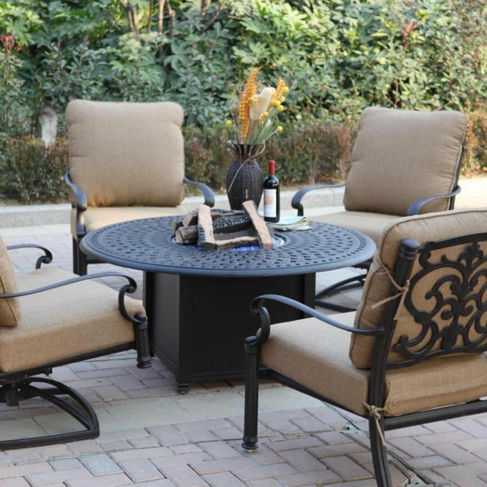 Gartenm 246 Bel Aus Gusseisen F 252 R Eine Edle Gartenatmosph 228 Re
