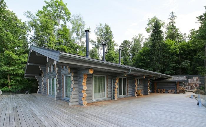 Holzhaus im Wald kaufen Ist das ein lang ersehnter Wunsch von Ihnen