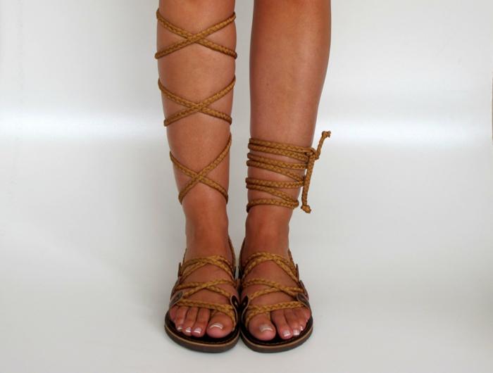 Rmische Sandalen sind ein bequemer und super aktueller Sommerhit