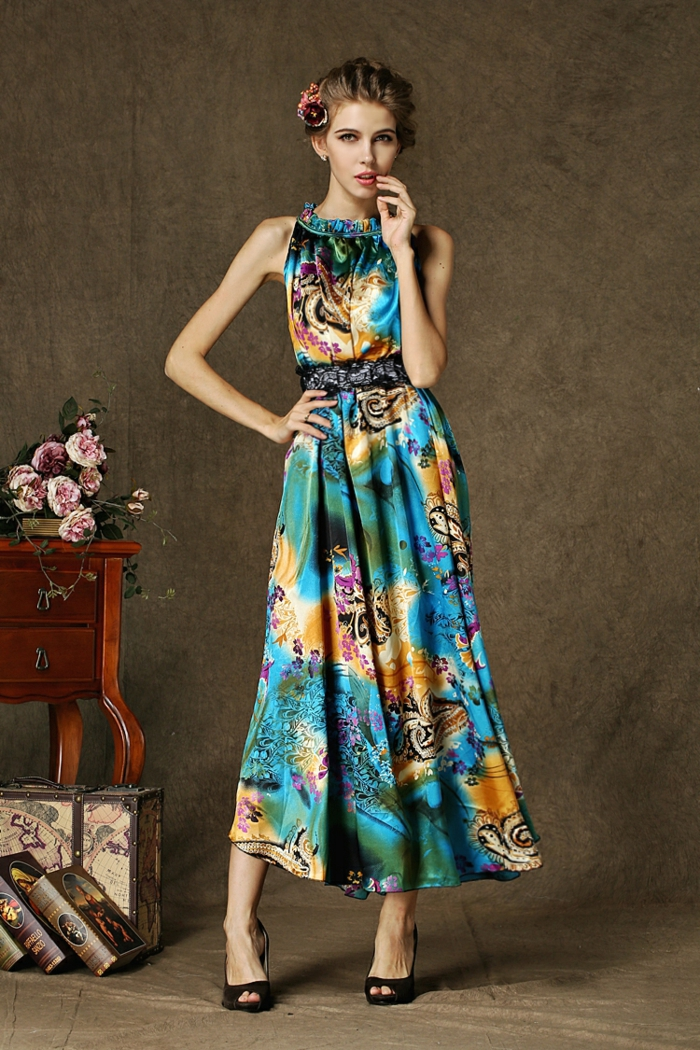 Sommerkleider 2015  modern den ganzen Sommer lang sein