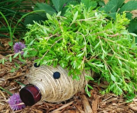 deco jardin avec recup