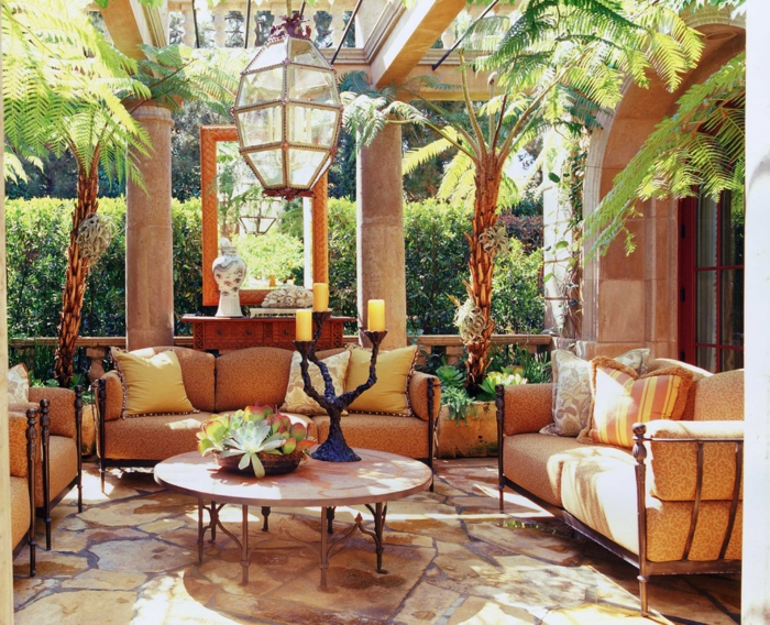 Mediterrane Möbel Sorgen Für Eine Exotische Wohnatmosphäre