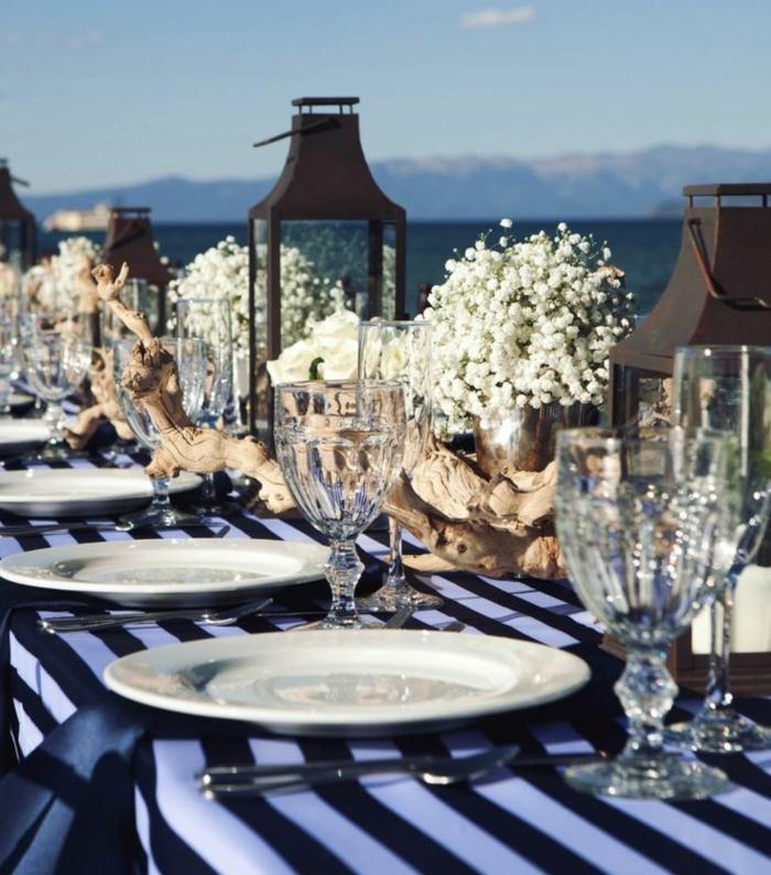 Treibholz Tisch  kreative Ideen fr ein sommerliches