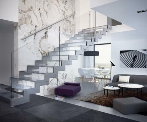 Treppenhaus gestalten  Ideen die Ihre Kreativitt steigern
