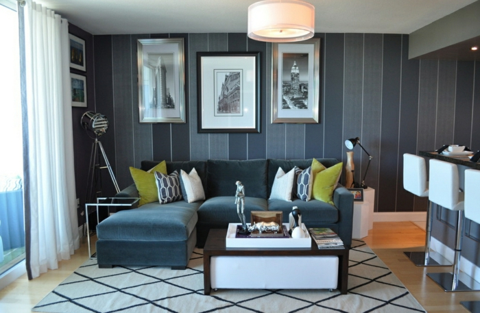 Einrichtungsideen fr Zimmer mit niedriger Decke