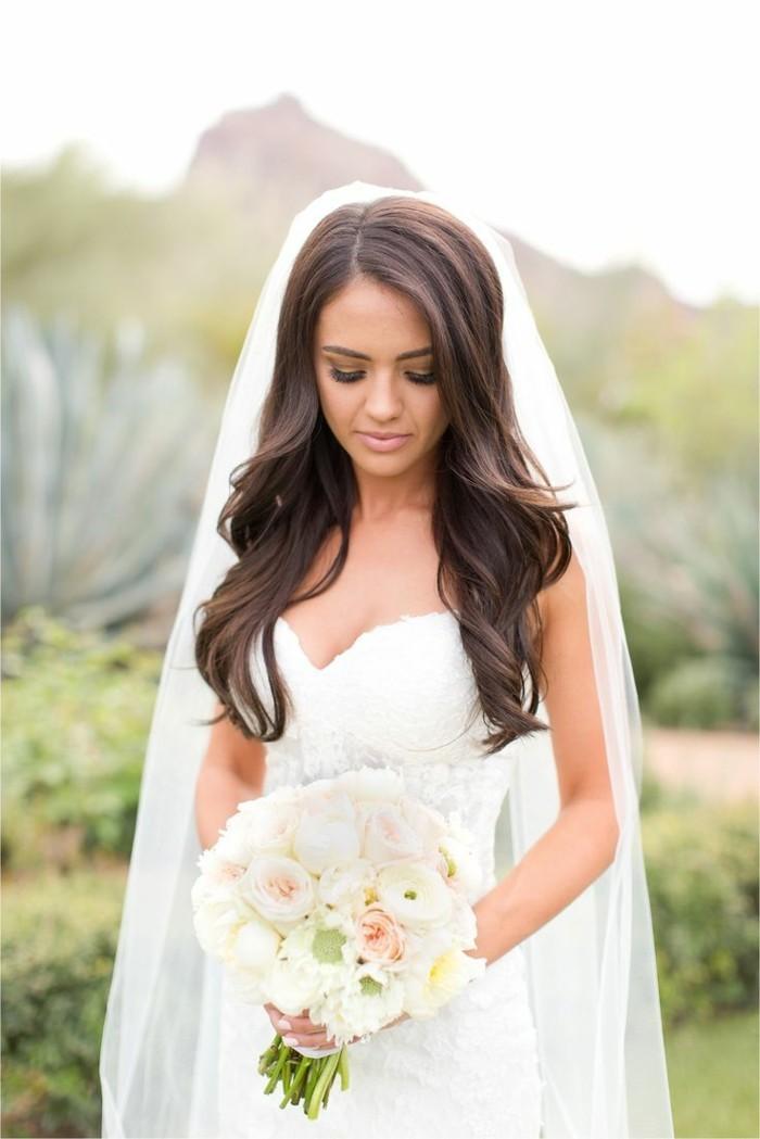 ▷ 34 Beispiele Für Zeitlose Brautfrisuren Mit Schleier