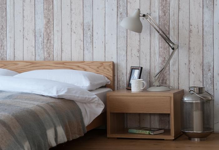 Skandinavische Schlafzimmer Startseite Design Bilder