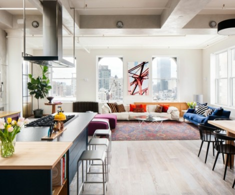 Innendesign Ideen aus einem Loft in New York