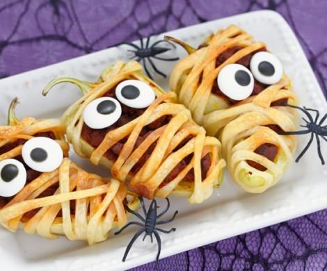 Halloween Rezept fr eine schmackhafte Vorspeise