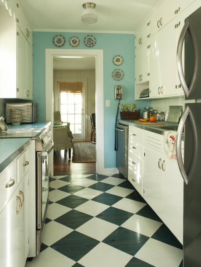 Fliesen Für Küchenboden   Ganz Einfach Fliesen Streichen Mit Kreidefarbe   MissPompadour