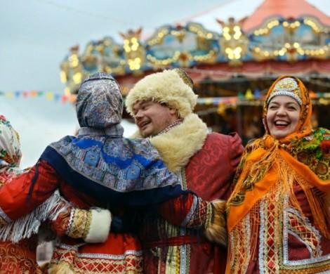 Russische Weihnachten  Sitten und Bruche