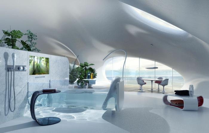 Design Badewanne  wer hat die Badewanne versteckt