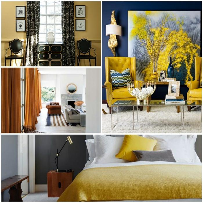 Ocker Farbe – Home Sweet Home