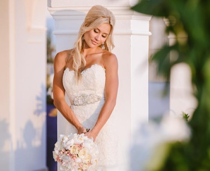Brautfrisuren Halboffen  24 elegante Ideen fr den