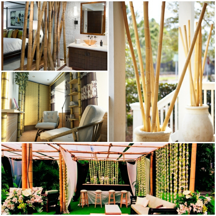 Bambus Deko Startseite Design Bilder