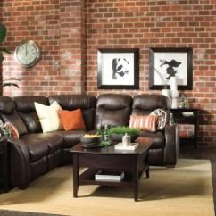 Living Room Ideas With Dark Leather Couches Grey And Silver Curtains Mustertapeten In Mauerwerkoptik Für Mehr Ästhetik Und ...