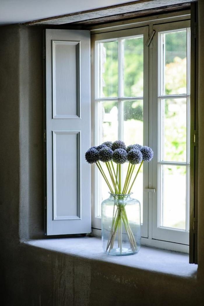 Die Fensterbank einheitlich und schn von Innen dekorieren