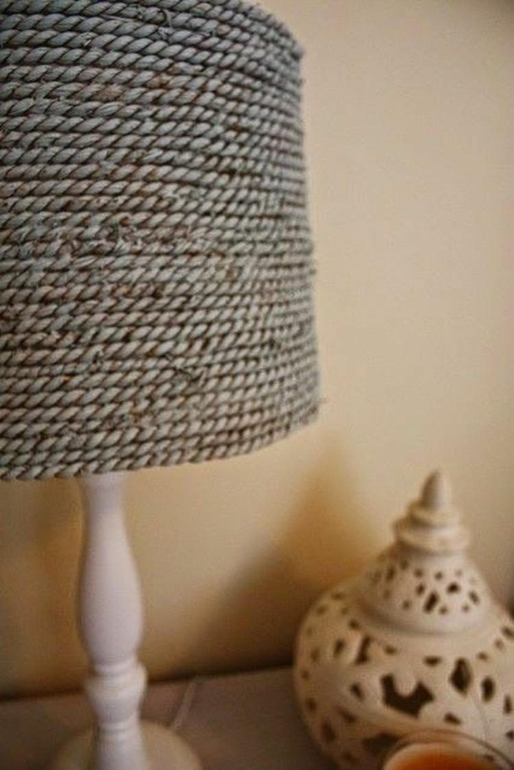 Lampenschirme selber machen  30 inspirierende Bastelideen