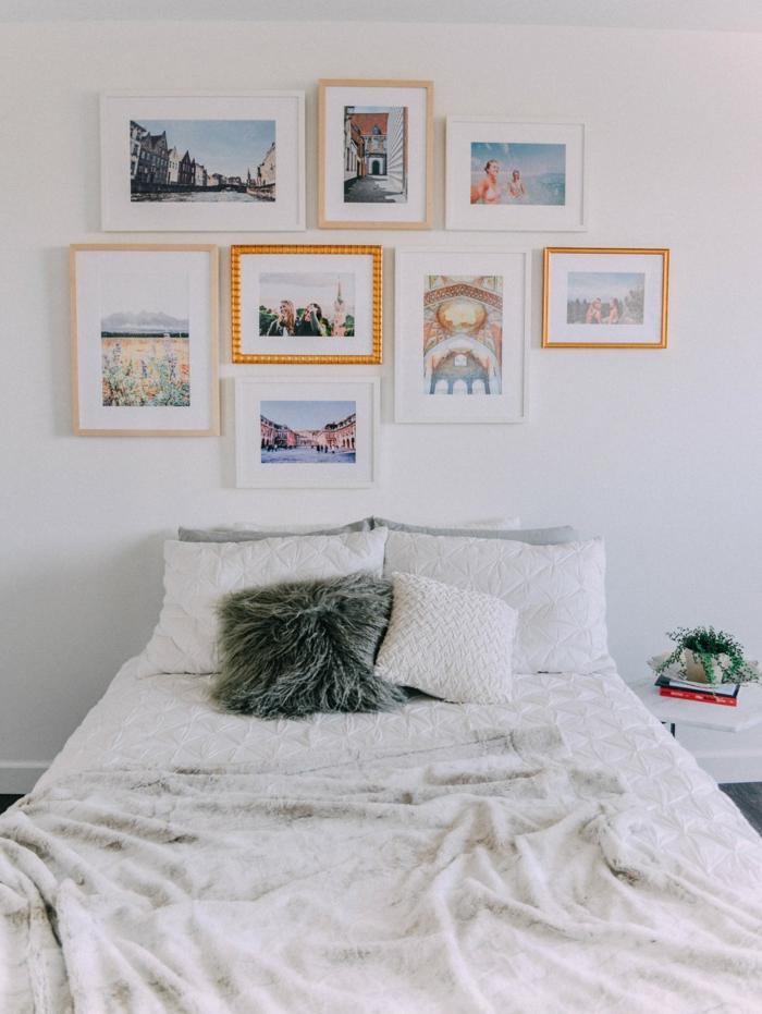 27 Fotowand Ideen fr eine blickfangende Wandgestaltung