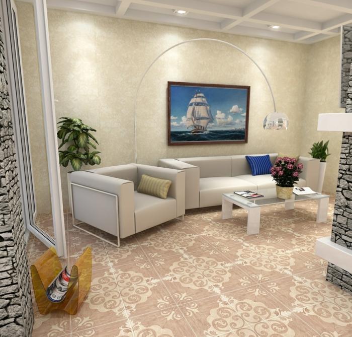 Wohnzimmer Fliesen Design – Inspiration design