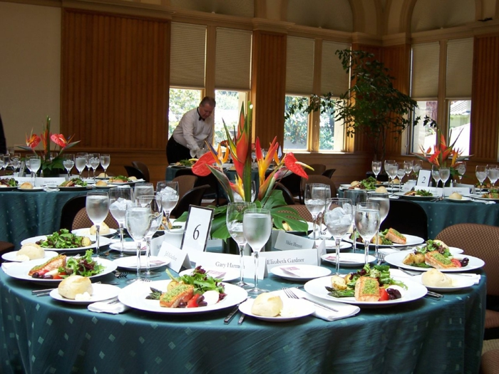 Tischblumen Hochzeit
