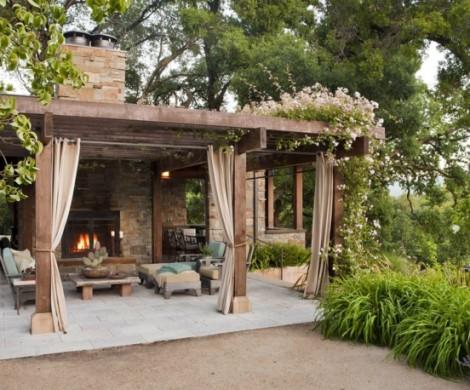 Pergola bauen  31 Bilder als Ideen fr die Ergnzung von Haus und Garten