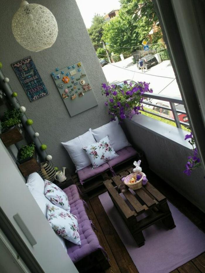 Balkongestaltung  ein kleiner Ort voller Entspannung und Romantik