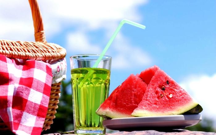 Gesundes Essen fr den Sommer