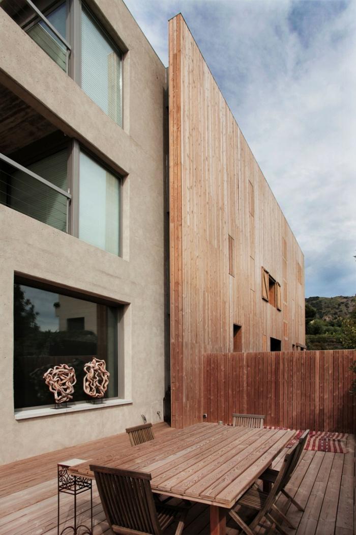 Hausfassade  Ideen fr die verschiedenen Kombinationen zu