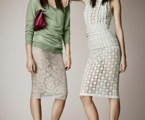 Durchsichtige Kleider fr Damen mit Stil
