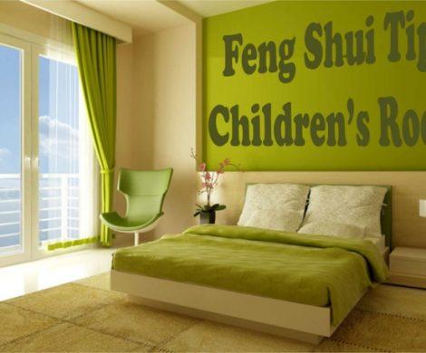 Kinderzimmer nach Feng Shui Regeln einrichten